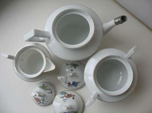 Старинный чайный сервиз. Восточная тема. Кузнецов в Москве Фото 3