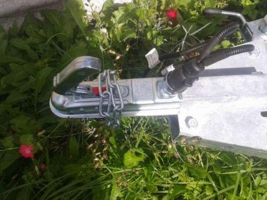 Новый прицеп, российского производства Avtos 2.7x1.5. Комплект ( Прицеп+ Тент+ Опорное колесо) в г. Витебск Фото 3