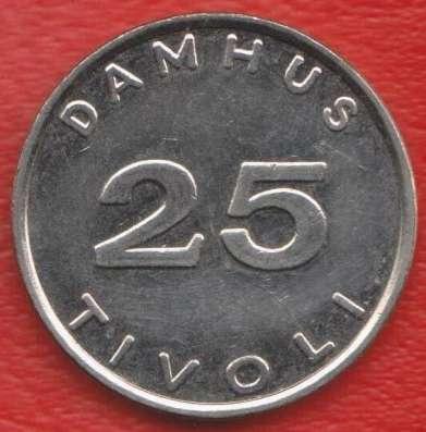 Жетон игровой Damhus Tivoli Дания