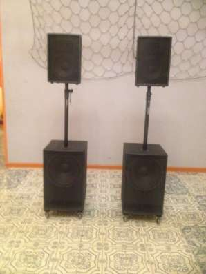 Активный акустический комплект 1000 Вт