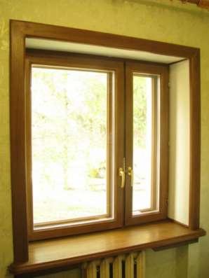 Евроокна,финские окна из дуба,сосны,бука в Пензе Фото 3