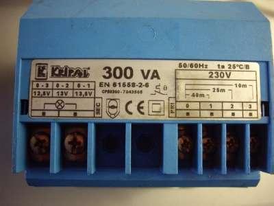 Трансформатор 300 Вт KRIPSOL (Испания)