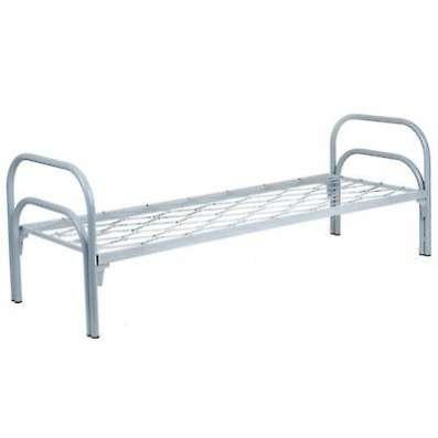 Железные армейские кровати, одноярусные металлические для больниц оптом