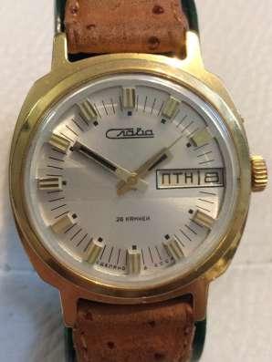 Часы Слава позолота,1979 г в Балашихе Фото 2
