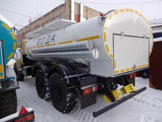 Автоцистерна для воды на Урале АЦН-10 северное исполнение
