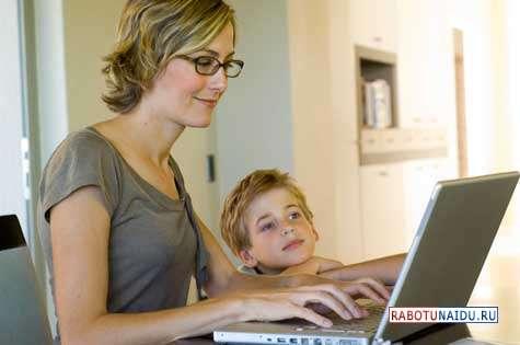 Работа для мам в декрете с удовольствием