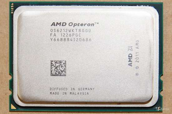 AMD Opteron 6212 OS6212WKT8GGU восьмиядерный