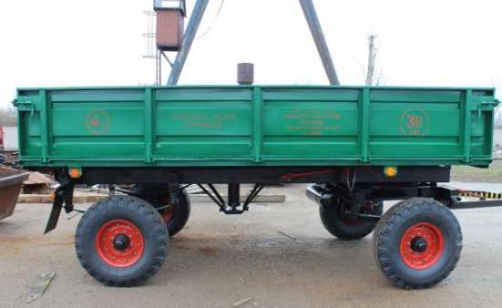 Прицеп тракторный самосвальный 2ПТС-4 в г. Запорожье Фото 5