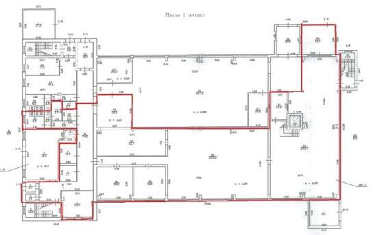 Производственное помещение 803.5 м2 у метро Черная речка в а