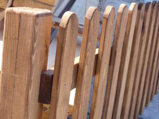 Забор деревянный декоративный 700х1000мм