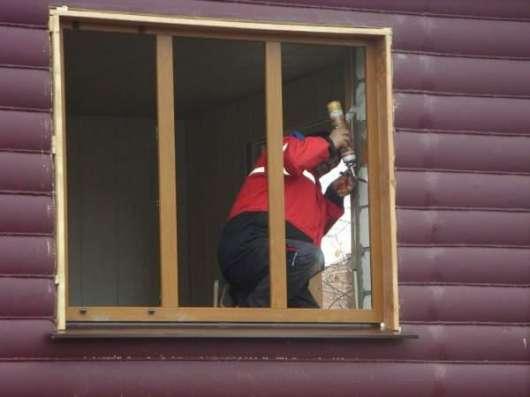 Деревянные окна. Ремонт изготовление монтаж в Екатеринбурге Фото 1