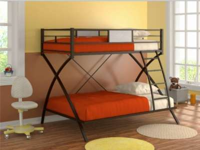 Фанки Лофт 4 Металлическая кровать