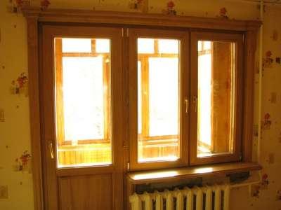 Евроокна,финские окна из дуба,сосны,бука в Пензе Фото 2