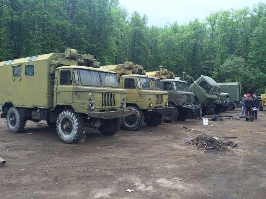 Газ 66 грузовой фургон (кунг)