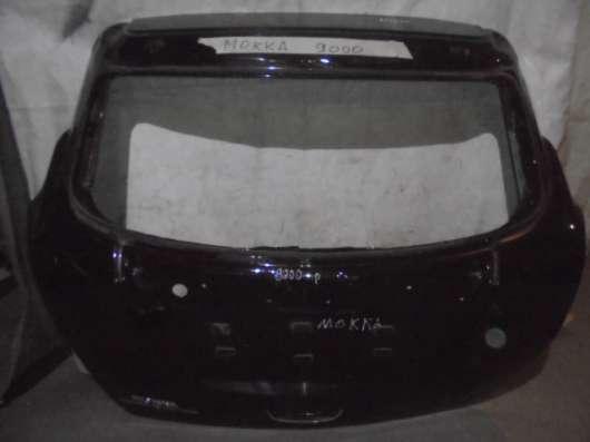 Крышка багажника на Опель Мокка