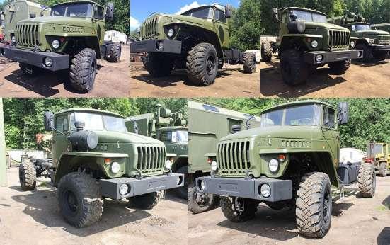 Урал 4320 шасси 4х4 - 2х осный вездеход с Ямз 236 дв