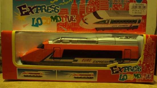 модель экспресс-локомотив в Липецке Фото 1