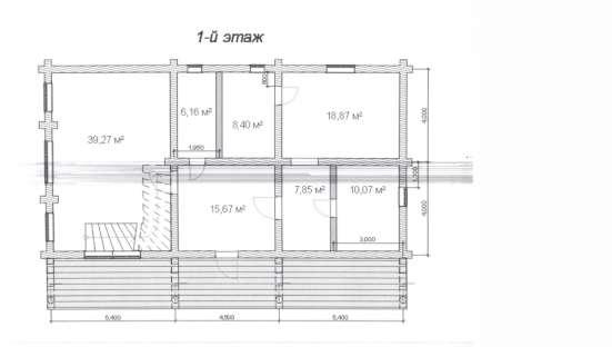 Дом-баня из кедра