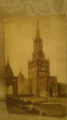 Старые почтовые открытки с видами Москвы Фото 1